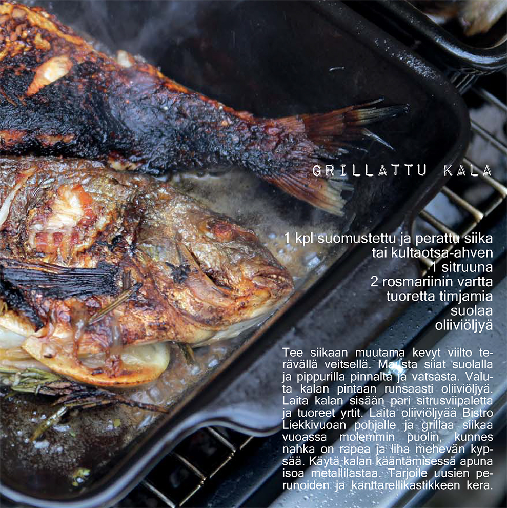 Grillattu kala resepti Kultakeramiikan verkkokauppa